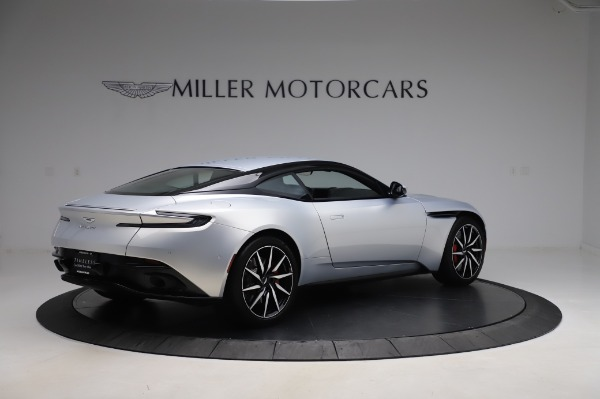 Used 2018 Aston Martin DB11 V8 Coupe for sale Sold at Aston Martin of Greenwich in Greenwich CT 06830 7