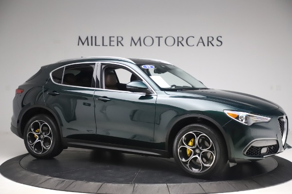 Used 2019 Alfa Romeo Stelvio Ti Lusso for sale Sold at Aston Martin of Greenwich in Greenwich CT 06830 10
