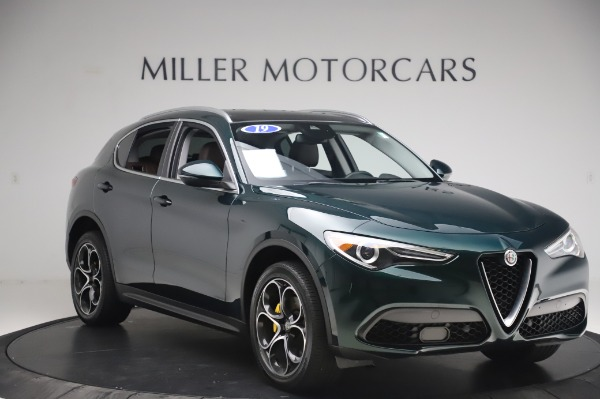 Used 2019 Alfa Romeo Stelvio Ti Lusso for sale Sold at Aston Martin of Greenwich in Greenwich CT 06830 11