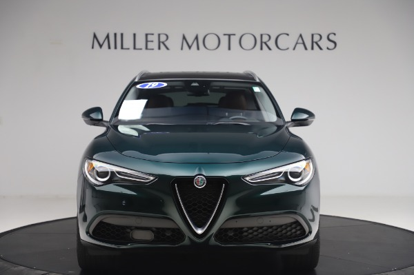 Used 2019 Alfa Romeo Stelvio Ti Lusso for sale Sold at Aston Martin of Greenwich in Greenwich CT 06830 12