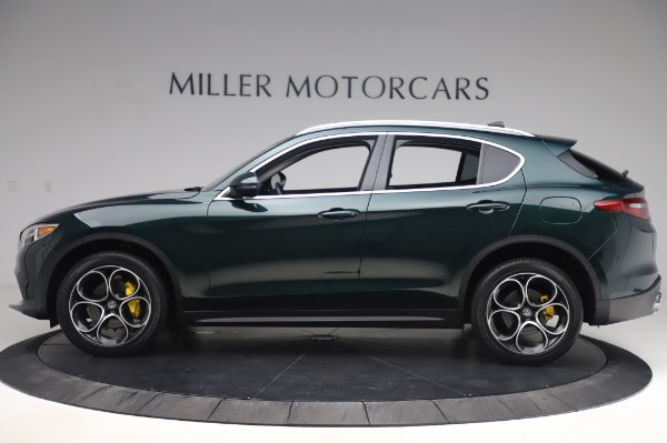Used 2019 Alfa Romeo Stelvio Ti Lusso for sale Sold at Aston Martin of Greenwich in Greenwich CT 06830 3