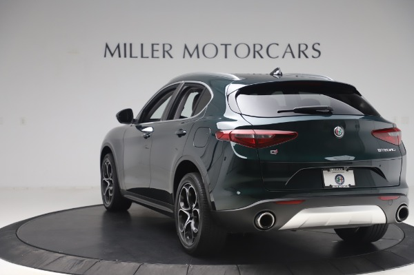 Used 2019 Alfa Romeo Stelvio Ti Lusso for sale Sold at Aston Martin of Greenwich in Greenwich CT 06830 5