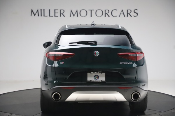 Used 2019 Alfa Romeo Stelvio Ti Lusso for sale Sold at Aston Martin of Greenwich in Greenwich CT 06830 6