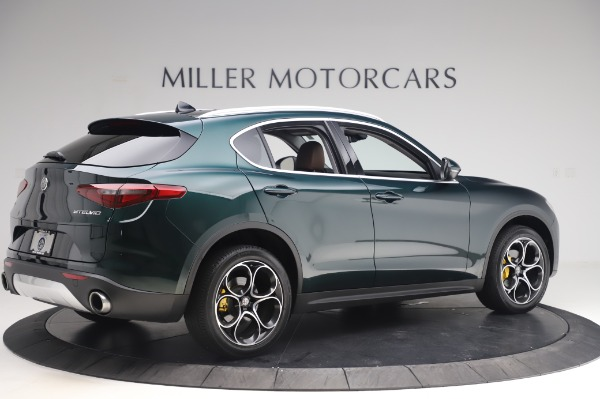 Used 2019 Alfa Romeo Stelvio Ti Lusso for sale Sold at Aston Martin of Greenwich in Greenwich CT 06830 7