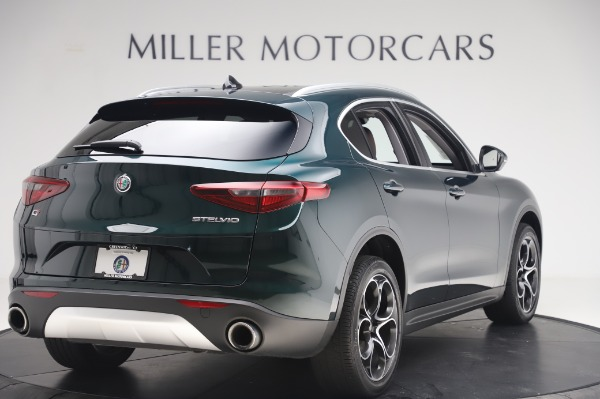 Used 2019 Alfa Romeo Stelvio Ti Lusso for sale Sold at Aston Martin of Greenwich in Greenwich CT 06830 8
