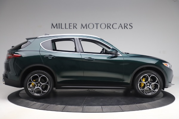 Used 2019 Alfa Romeo Stelvio Ti Lusso for sale Sold at Aston Martin of Greenwich in Greenwich CT 06830 9