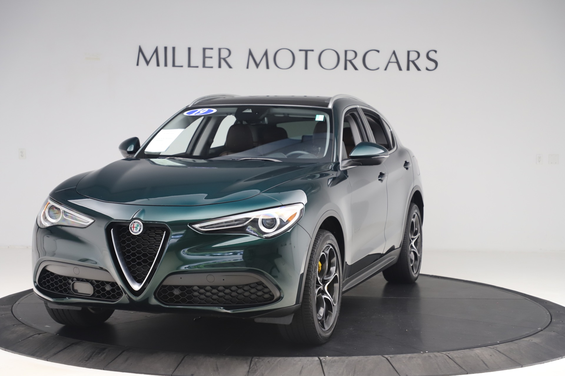 Used 2019 Alfa Romeo Stelvio Ti Lusso for sale Sold at Aston Martin of Greenwich in Greenwich CT 06830 1