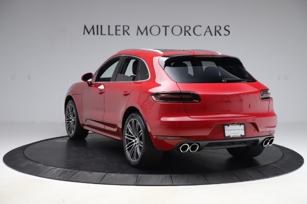 Used 2017 Porsche Macan GTS for sale $57,900 at Aston Martin of Greenwich in Greenwich CT 06830 5