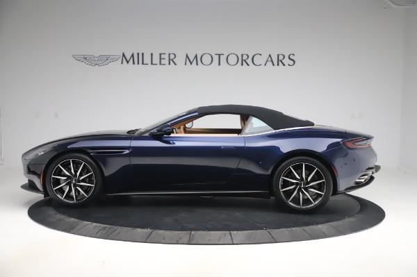 New 2020 Aston Martin DB11 Volante Volante for sale $248,326 at Aston Martin of Greenwich in Greenwich CT 06830 13