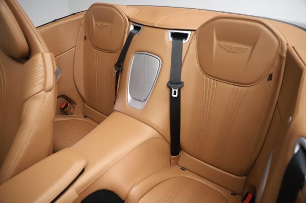 New 2020 Aston Martin DB11 Volante Volante for sale $248,326 at Aston Martin of Greenwich in Greenwich CT 06830 21