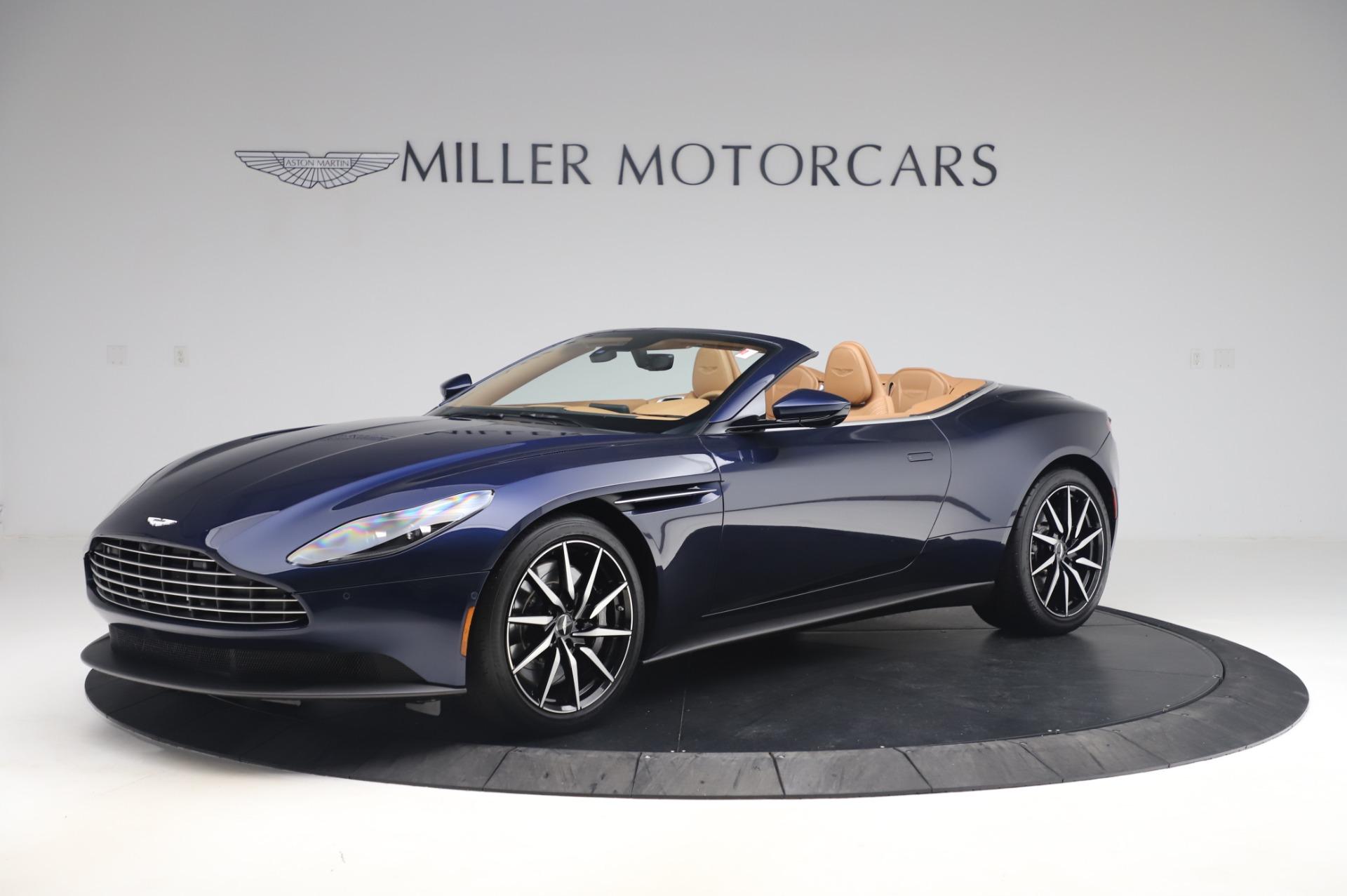 New 2020 Aston Martin DB11 Volante for sale $248,326 at Aston Martin of Greenwich in Greenwich CT 06830 1