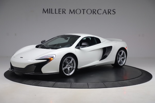Used 2016 McLaren 650S Spider for sale $152,900 at Aston Martin of Greenwich in Greenwich CT 06830 10