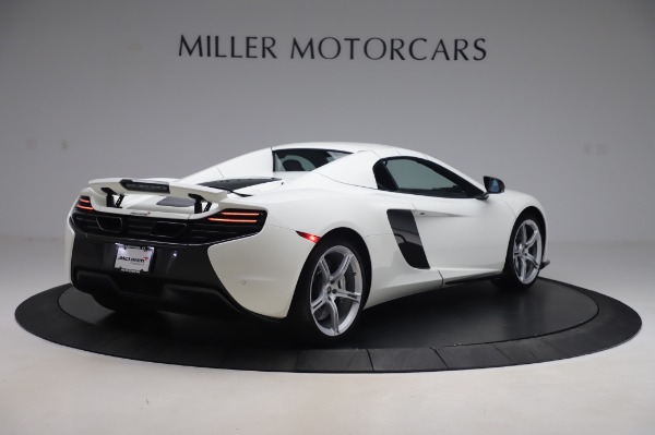 Used 2016 McLaren 650S Spider for sale $152,900 at Aston Martin of Greenwich in Greenwich CT 06830 14