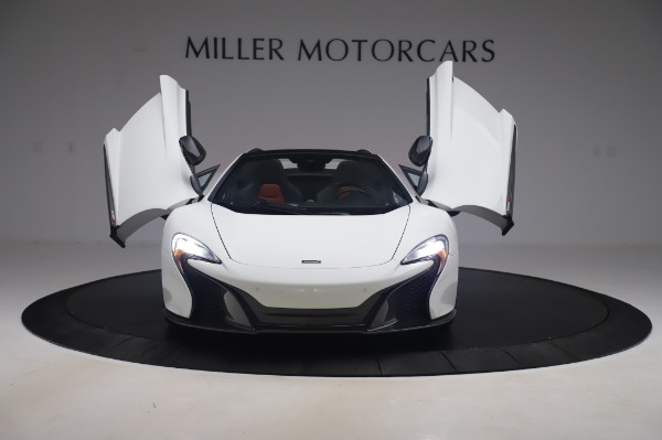 Used 2016 McLaren 650S Spider for sale $152,900 at Aston Martin of Greenwich in Greenwich CT 06830 17
