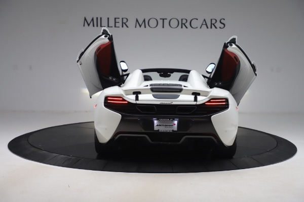 Used 2016 McLaren 650S Spider for sale $152,900 at Aston Martin of Greenwich in Greenwich CT 06830 19