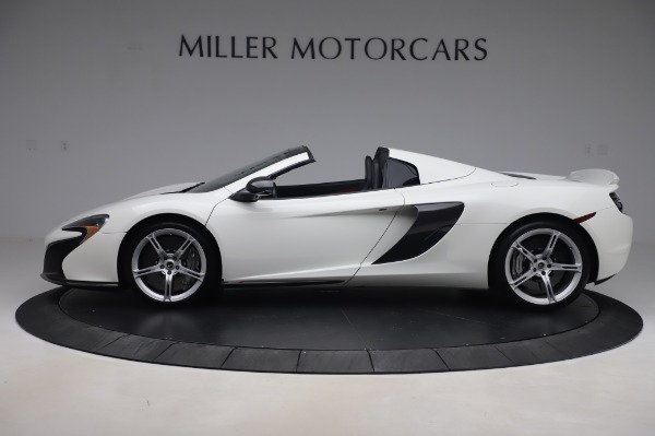 Used 2016 McLaren 650S Spider for sale $152,900 at Aston Martin of Greenwich in Greenwich CT 06830 2