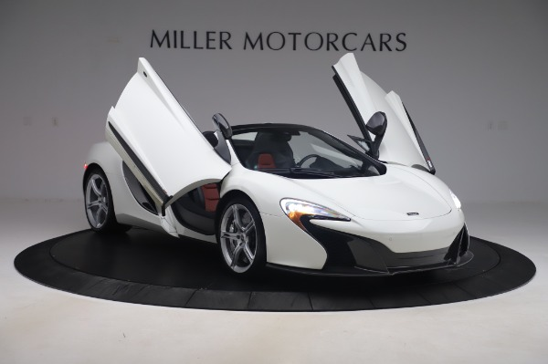 Used 2016 McLaren 650S Spider for sale $152,900 at Aston Martin of Greenwich in Greenwich CT 06830 21