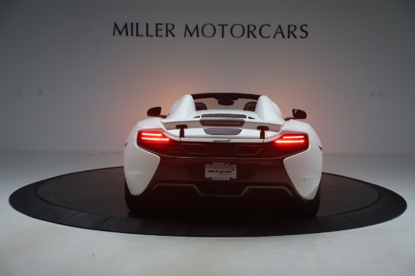 Used 2016 McLaren 650S Spider for sale $152,900 at Aston Martin of Greenwich in Greenwich CT 06830 4