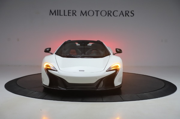 Used 2016 McLaren 650S Spider for sale $152,900 at Aston Martin of Greenwich in Greenwich CT 06830 8