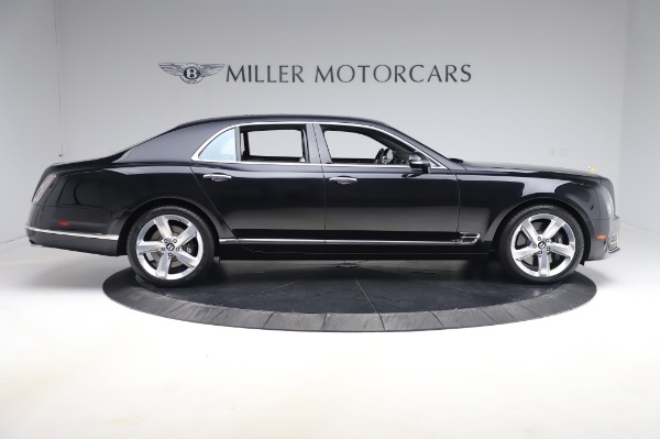Used 2018 Bentley Mulsanne Speed for sale $239,900 at Aston Martin of Greenwich in Greenwich CT 06830 9
