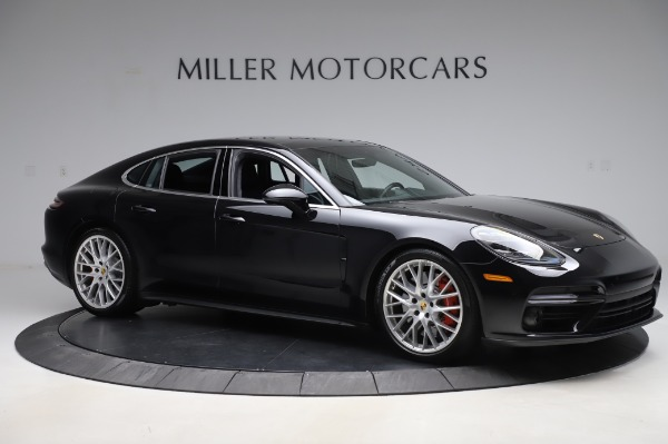 Used 2017 Porsche Panamera Turbo for sale $95,900 at Aston Martin of Greenwich in Greenwich CT 06830 10