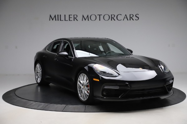 Used 2017 Porsche Panamera Turbo for sale $95,900 at Aston Martin of Greenwich in Greenwich CT 06830 11