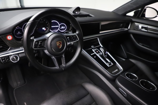 Used 2017 Porsche Panamera Turbo for sale $95,900 at Aston Martin of Greenwich in Greenwich CT 06830 13