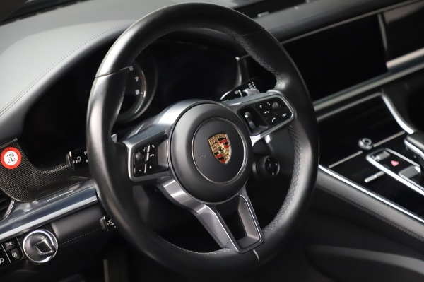 Used 2017 Porsche Panamera Turbo for sale $95,900 at Aston Martin of Greenwich in Greenwich CT 06830 16