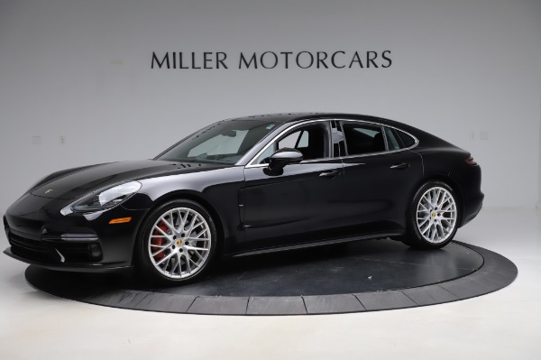 Used 2017 Porsche Panamera Turbo for sale $95,900 at Aston Martin of Greenwich in Greenwich CT 06830 2