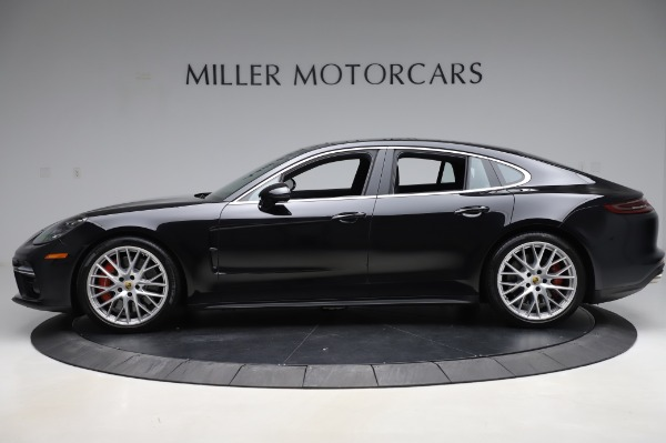 Used 2017 Porsche Panamera Turbo for sale $95,900 at Aston Martin of Greenwich in Greenwich CT 06830 3