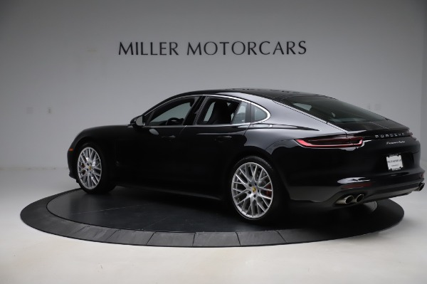 Used 2017 Porsche Panamera Turbo for sale $95,900 at Aston Martin of Greenwich in Greenwich CT 06830 4