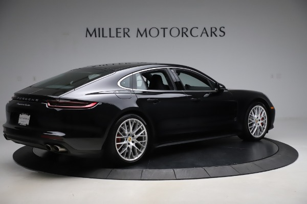 Used 2017 Porsche Panamera Turbo for sale $95,900 at Aston Martin of Greenwich in Greenwich CT 06830 8