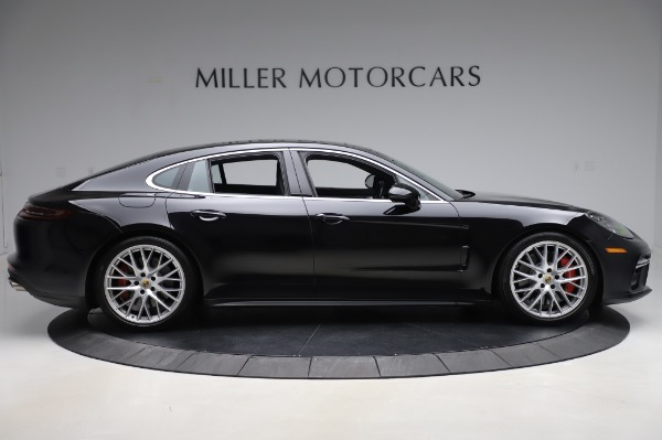 Used 2017 Porsche Panamera Turbo for sale $95,900 at Aston Martin of Greenwich in Greenwich CT 06830 9