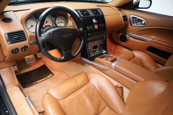 Used 2003 Aston Martin V12 Vanquish Coupe for sale $79,900 at Aston Martin of Greenwich in Greenwich CT 06830 13