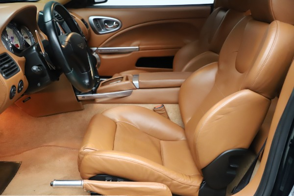 Used 2003 Aston Martin V12 Vanquish Coupe for sale $79,900 at Aston Martin of Greenwich in Greenwich CT 06830 14