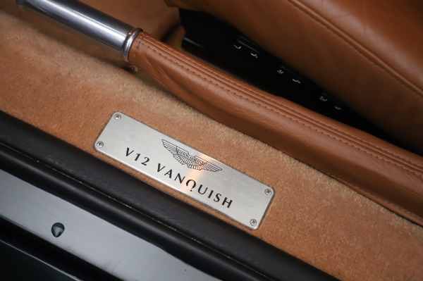 Used 2003 Aston Martin V12 Vanquish Coupe for sale $79,900 at Aston Martin of Greenwich in Greenwich CT 06830 16
