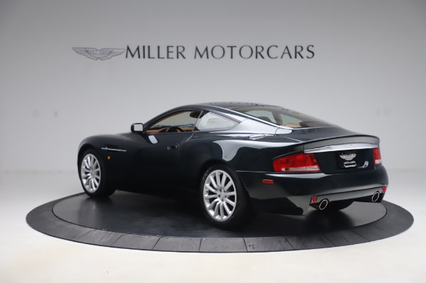 Used 2003 Aston Martin V12 Vanquish Coupe for sale $79,900 at Aston Martin of Greenwich in Greenwich CT 06830 4