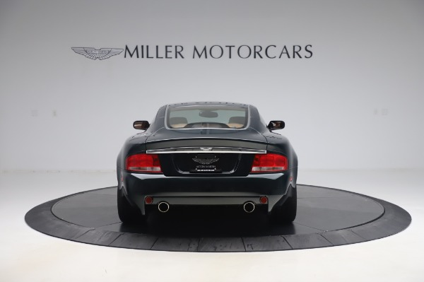 Used 2003 Aston Martin V12 Vanquish Coupe for sale $79,900 at Aston Martin of Greenwich in Greenwich CT 06830 6