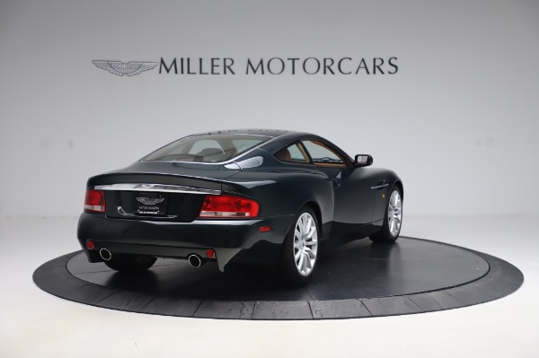 Used 2003 Aston Martin V12 Vanquish Coupe for sale $79,900 at Aston Martin of Greenwich in Greenwich CT 06830 7