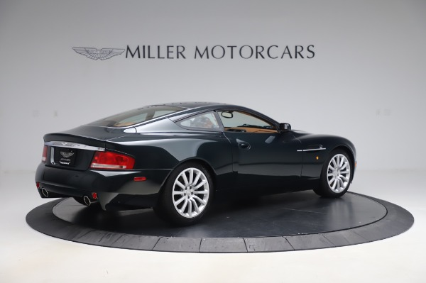 Used 2003 Aston Martin V12 Vanquish Coupe for sale $79,900 at Aston Martin of Greenwich in Greenwich CT 06830 8