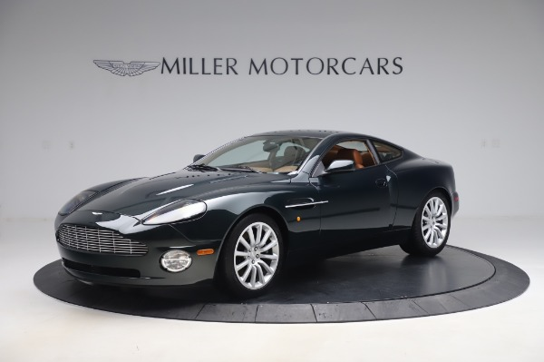 Used 2003 Aston Martin V12 Vanquish Coupe for sale $79,900 at Aston Martin of Greenwich in Greenwich CT 06830 1