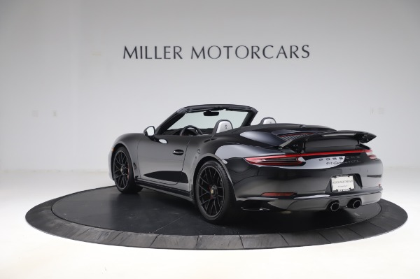 Used 2018 Porsche 911 Carrera 4 GTS for sale $137,900 at Aston Martin of Greenwich in Greenwich CT 06830 4