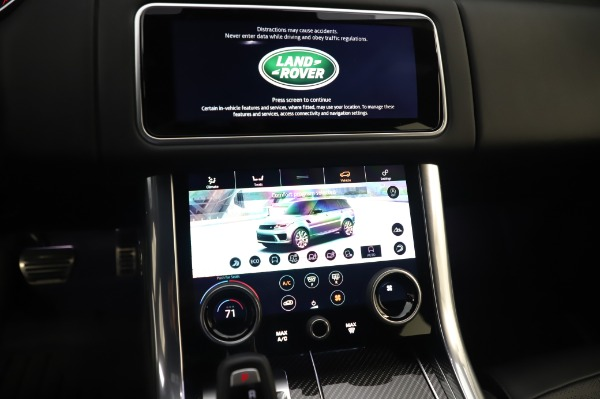Used 2019 Land Rover Range Rover Sport Autobiography for sale Sold at Aston Martin of Greenwich in Greenwich CT 06830 27