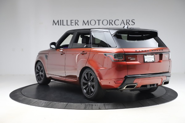 Used 2019 Land Rover Range Rover Sport Autobiography for sale Sold at Aston Martin of Greenwich in Greenwich CT 06830 5