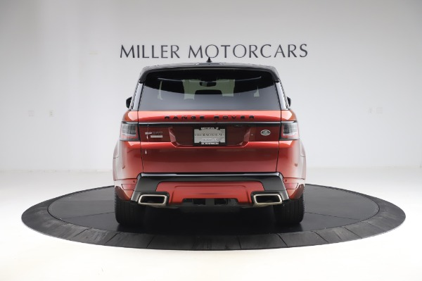 Used 2019 Land Rover Range Rover Sport Autobiography for sale Sold at Aston Martin of Greenwich in Greenwich CT 06830 6