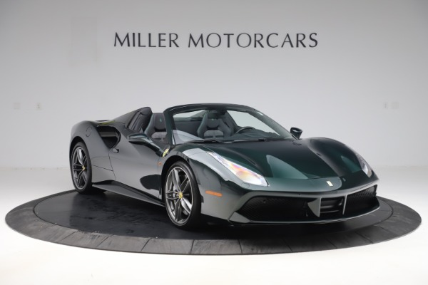 Used 2019 Ferrari 488 Spider Base for sale $329,900 at Aston Martin of Greenwich in Greenwich CT 06830 11