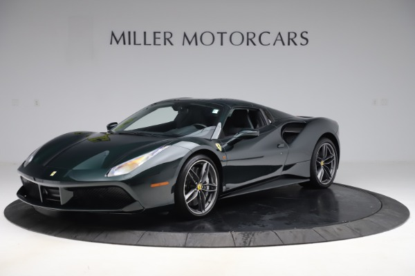 Used 2019 Ferrari 488 Spider Base for sale $329,900 at Aston Martin of Greenwich in Greenwich CT 06830 13