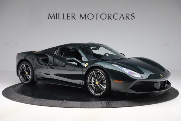 Used 2019 Ferrari 488 Spider Base for sale $329,900 at Aston Martin of Greenwich in Greenwich CT 06830 18