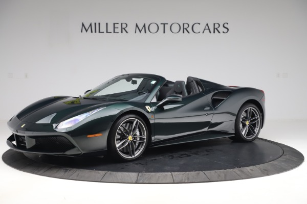Used 2019 Ferrari 488 Spider Base for sale $329,900 at Aston Martin of Greenwich in Greenwich CT 06830 2