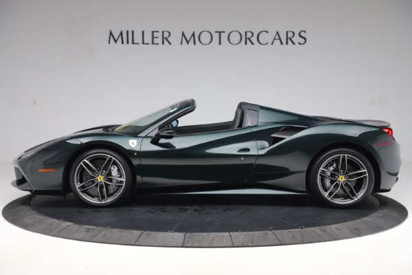 Used 2019 Ferrari 488 Spider Base for sale $329,900 at Aston Martin of Greenwich in Greenwich CT 06830 3